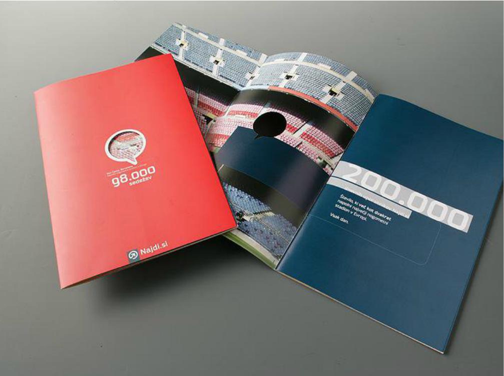 Điểm khác nhau giữa thiết kế catalogue và thiết kế Brochure