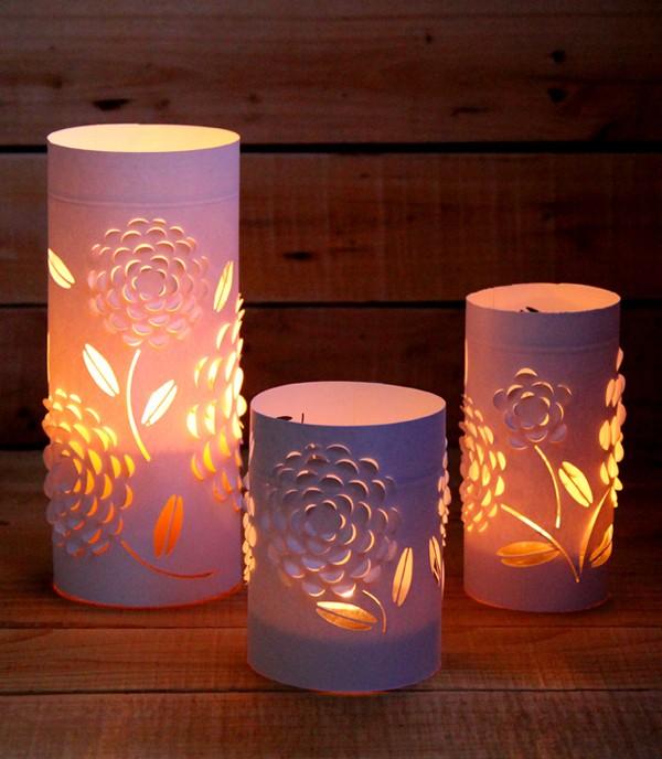 Bạn đã có chiếc đèn ngủ nhỏ xinh từ hộp giấy chưa?
