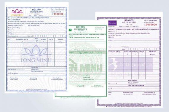 In hóa đơn đỏ GTGT (VAT) giá rẻ huyện hóc môn