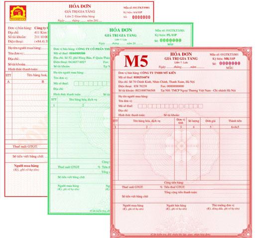In hóa đơn đỏ GTGT (VAT) giá rẻ quận phú nhuận