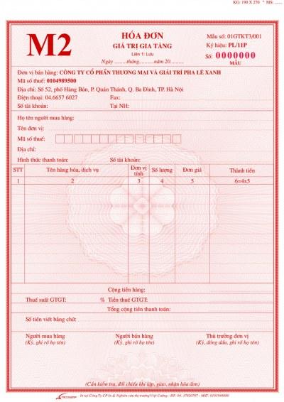 In hóa đơn đỏ GTGT (VAT) giá rẻ quận 1 tphcm