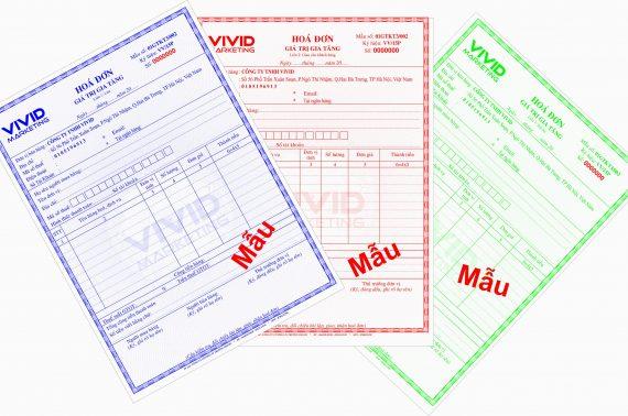 In hóa đơn đỏ GTGT (VAT) giá rẻ quận tân bình