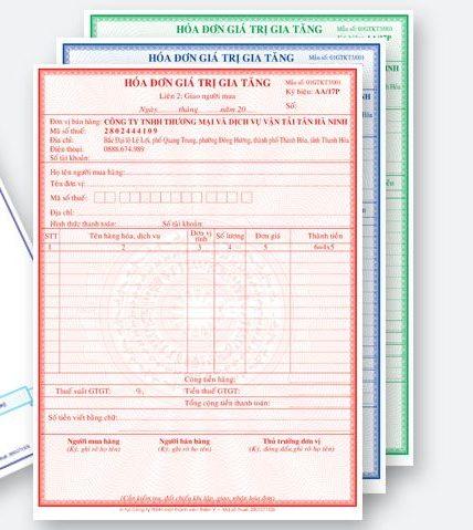 In hóa đơn đỏ GTGT (VAT) giá rẻ huyện nhà bè