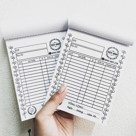 Dịch vụ in hóa đơn A5 giá cạnh tranh tại Hóc Môn