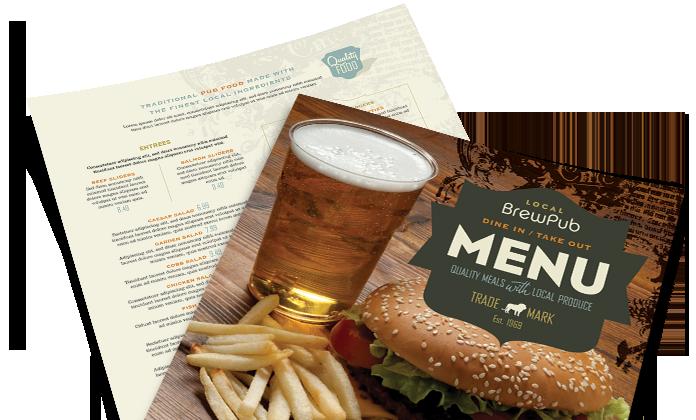 Dịch vụ in menu chuyên nghiệp tại Thủ Đức