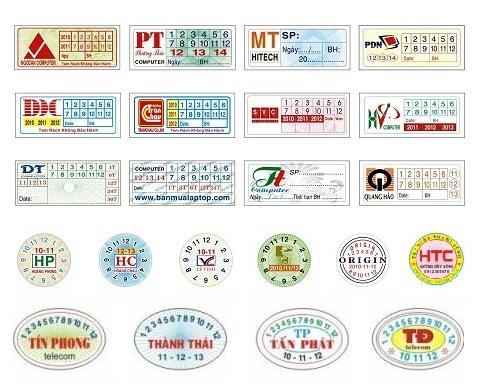 In tem bảo hành chất lượng cao tại Tân Bình