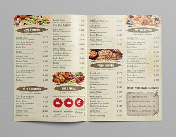 Dịch vụ in menu chuyên nghiệp tại Gò Vấp