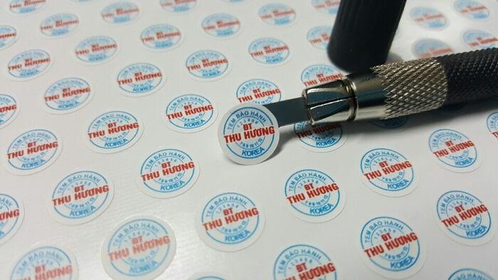 In tem bảo hành chất lượng cao tại Bình Chánh