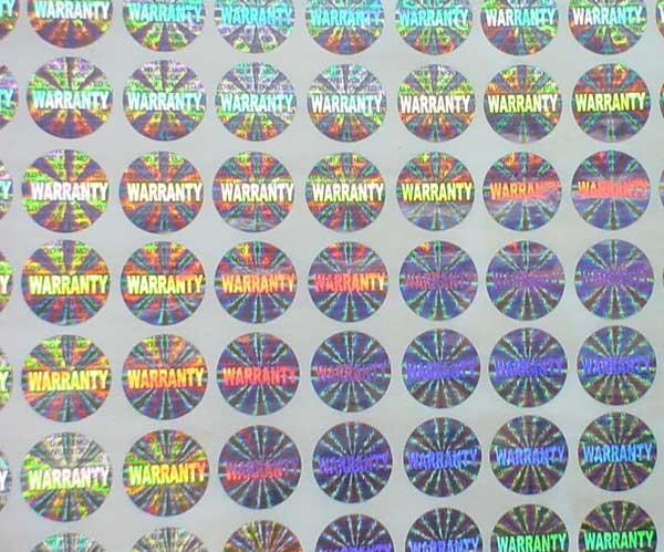 In tem bảo hành chất lượng cao tại Gò Vấp