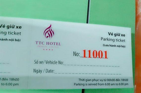 Dịch vụ in vé giữ xe chất lượng tốt, giá rẻ tại Tân Phú